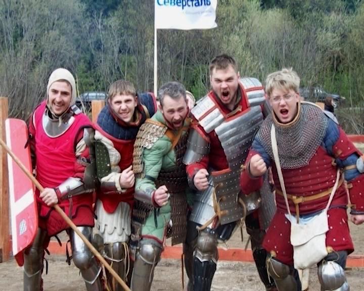 Подготовка к рыцарскому турниру