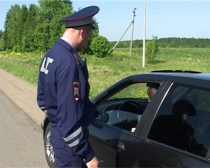 Сплошные проверки ГИБДД на дорогах