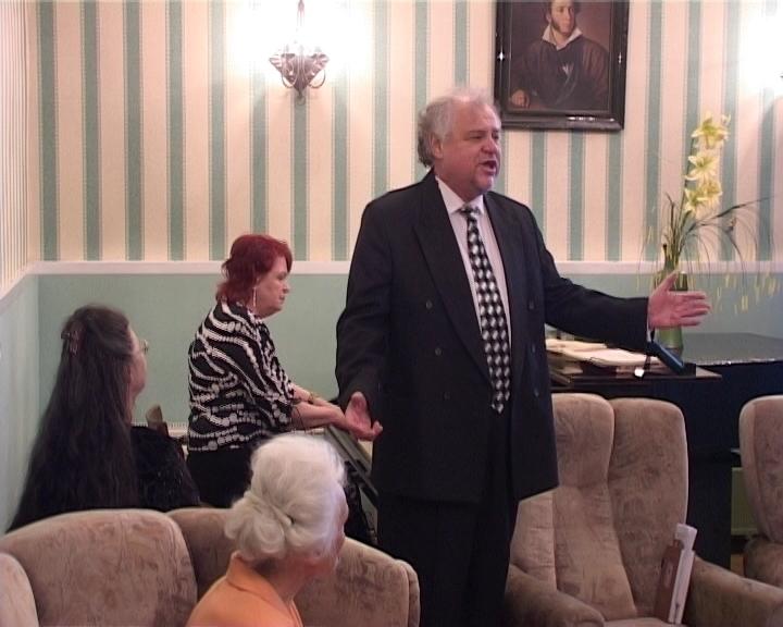 Поэтический вечер в Пушкинской гостиной