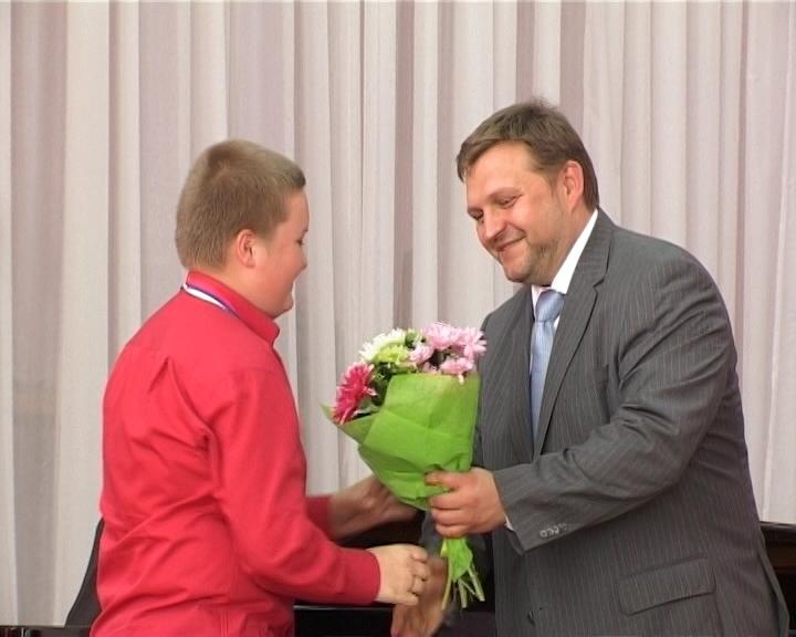 Награждение победителей Дельфийских игр