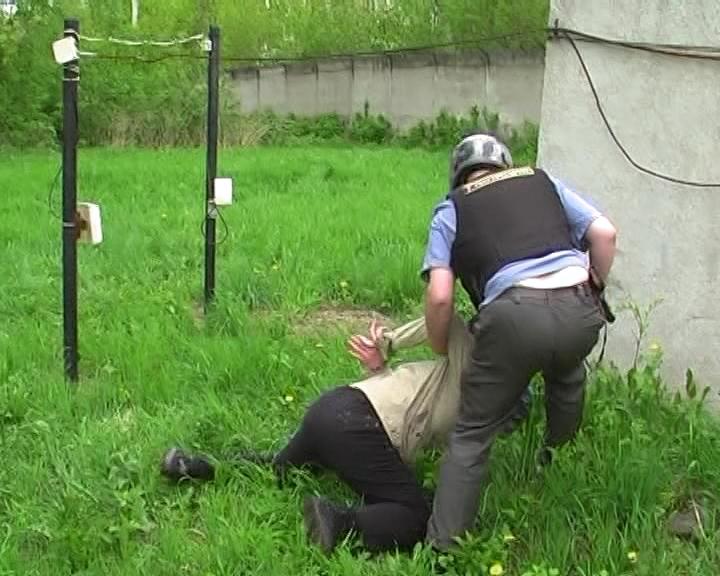 Учения охраны