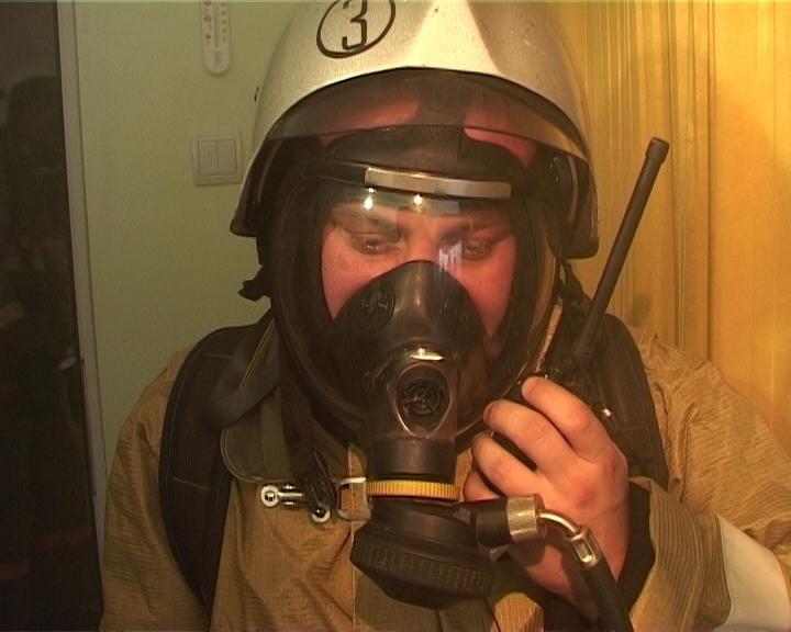 Учения по тушению пожара