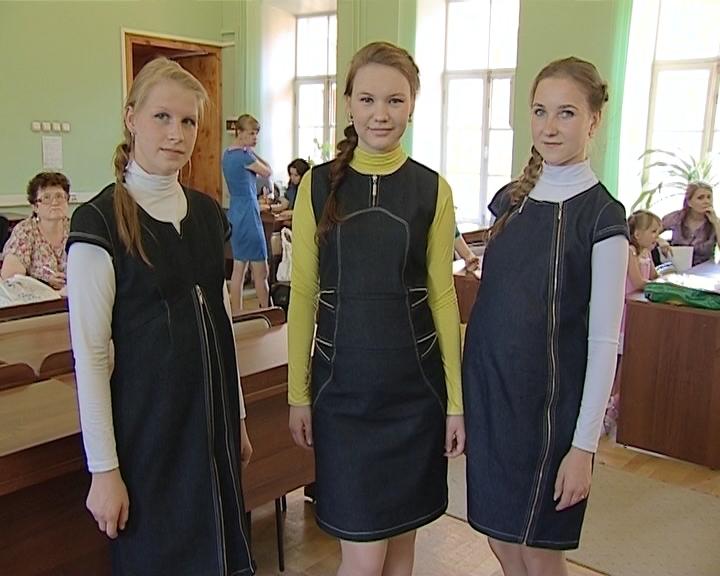 Защита дипломов модельеров