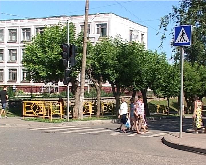 Проверка перекрестков у школ