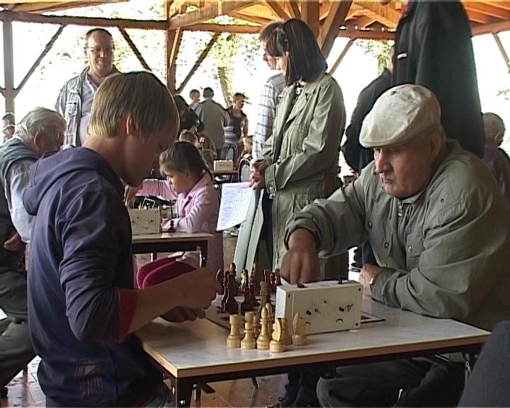 Павильон для игры в шахматы