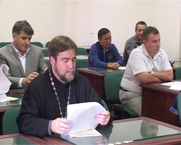 Заседание общественного совета УФМС