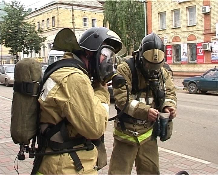 Пожарные учения в ВГУ
