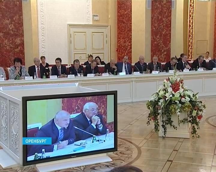 Законодатели Приволжья и сенаторы Совета Федерации в Оренбурге