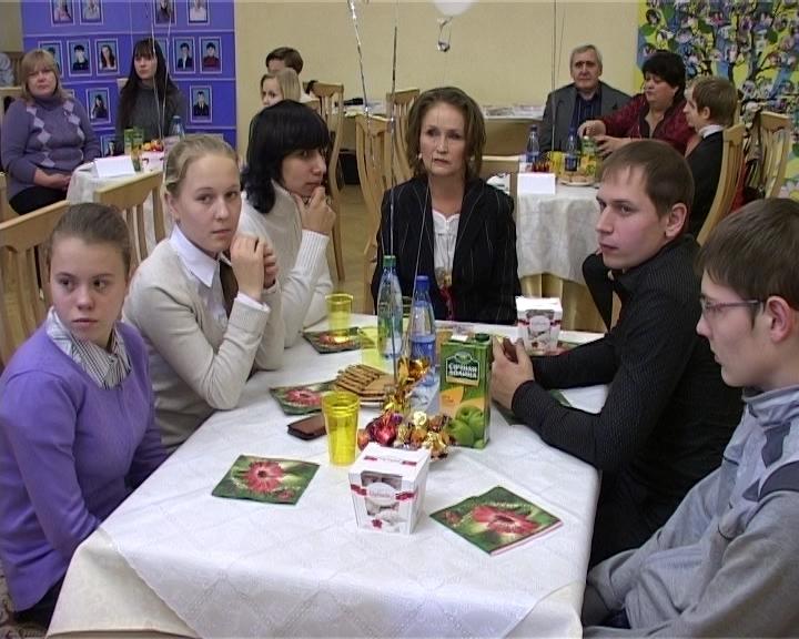 Встреча с приемными семьями