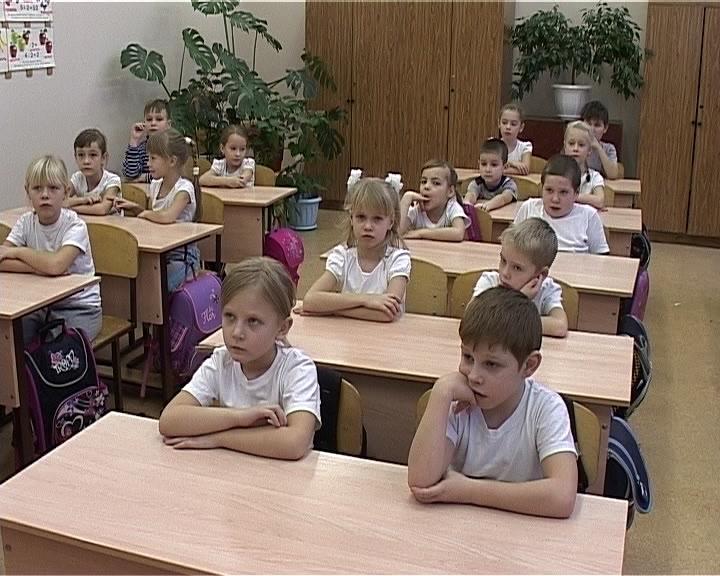Экологический урок в школе № 14