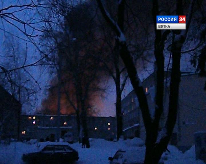 Авария на железнодорожной станции Поздино в Нововятске