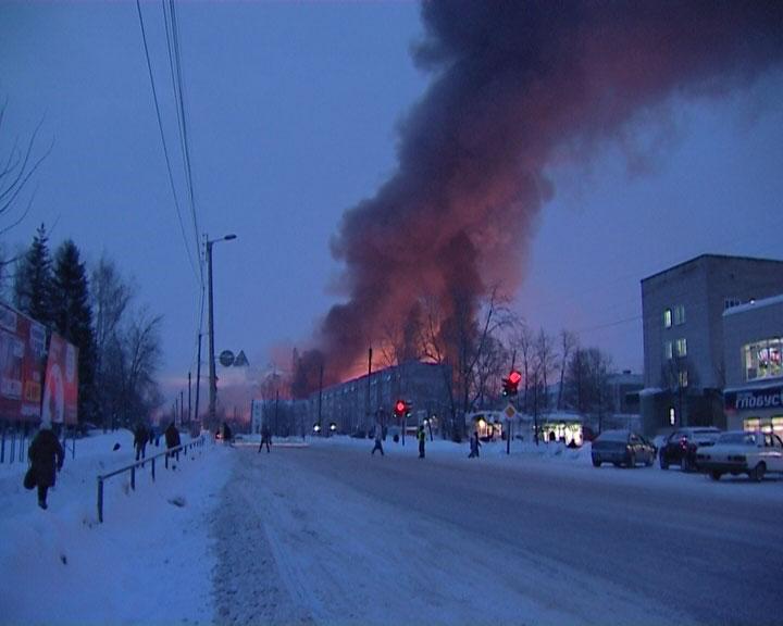 Хроника первых часов аварии на железной дороге в нововятском районе города Кирова