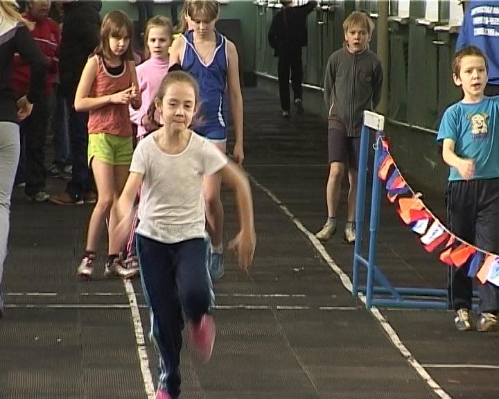 Молодые дарования в легкой атлетике