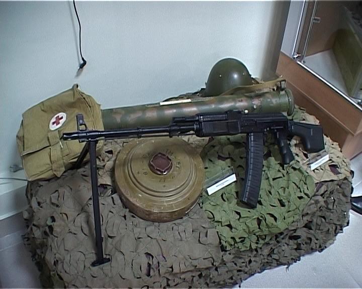 Открытие музея воинской славы в городе Кирове