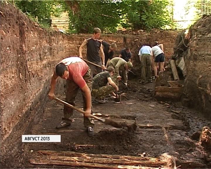Итоги археологического сезона в 2013 году