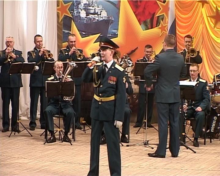 Праздничный концерт в областной филармонии, посвященный Дню защитника Отечества