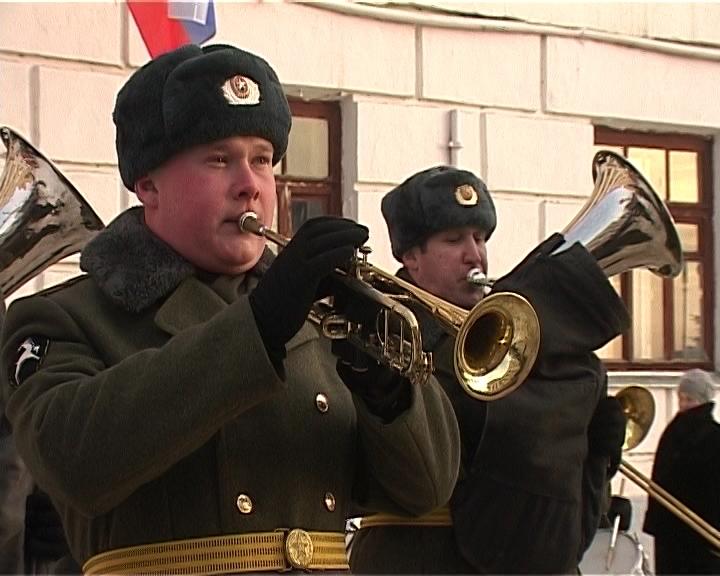 Празднование 23 февраля  в Кирове