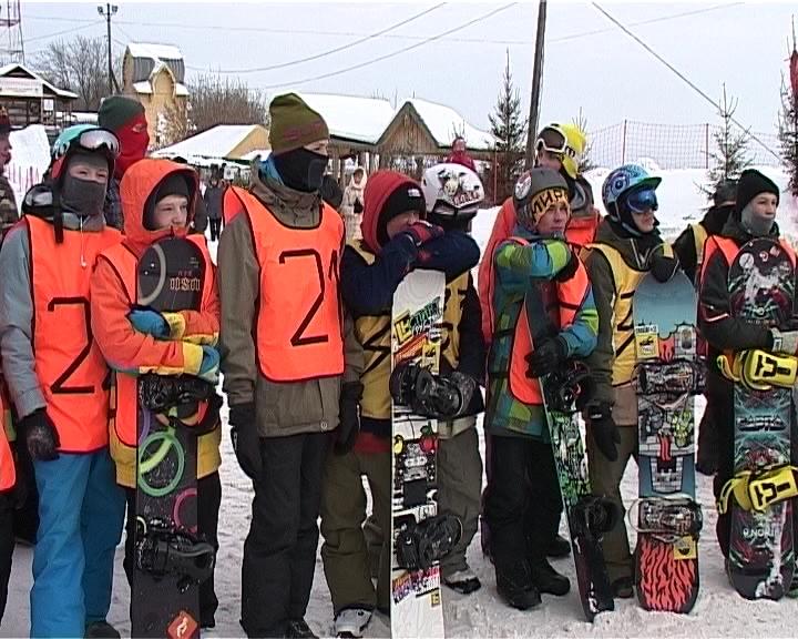 Соревнования по  джиббингу на Кикиморской горе