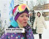 Большие детские соревнования по сноуборду  на Кикиморской горе
