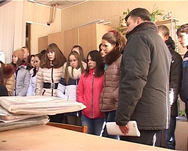 Экскурсия на АТП для воспитанников детских домов