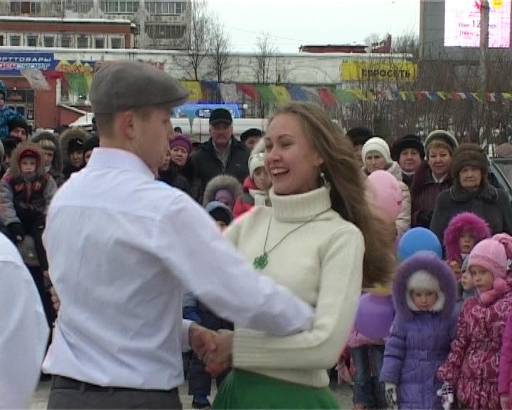 Масленичные гуляния в Кирове