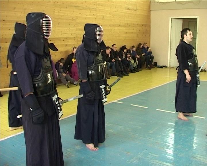 Первый открытый чемпионат по кендо на Вятке