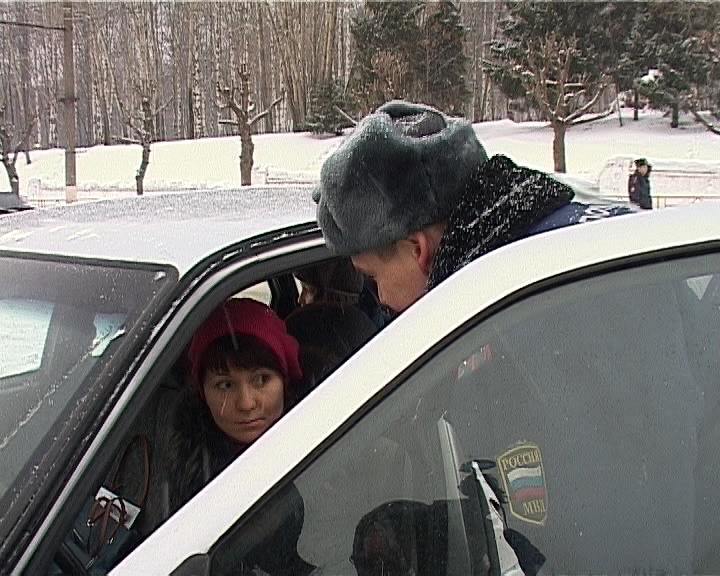 Проверка ГИБДД соблюдения правил перевозки детей
