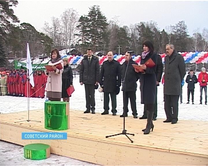 Всероссийская зимняя спартакиада учащихся образовательных учреждений лесного профиля в Советском районе