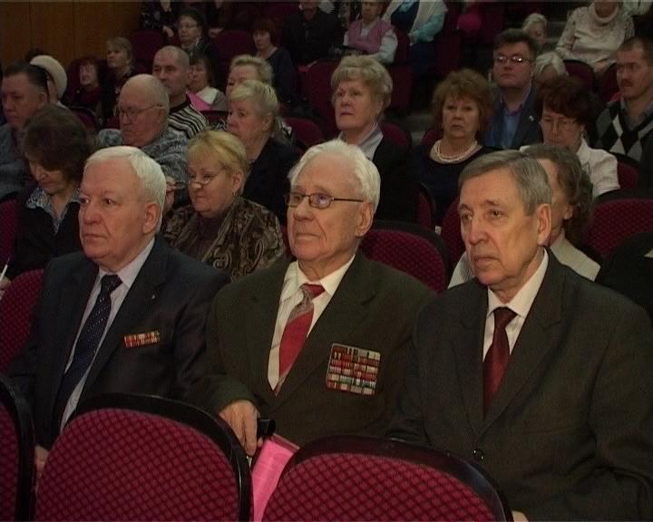 Пленум совета ветеранов во Дворце культуры