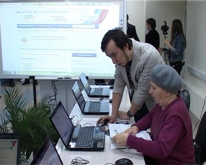 Консультирование граждан по предоставлению государственных услуг, оказываемых МВД России