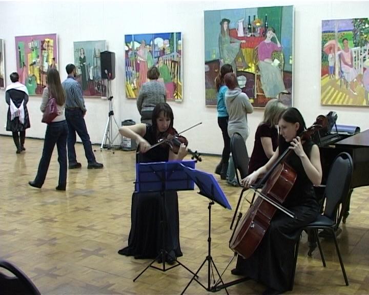 Выставка А. Любавина