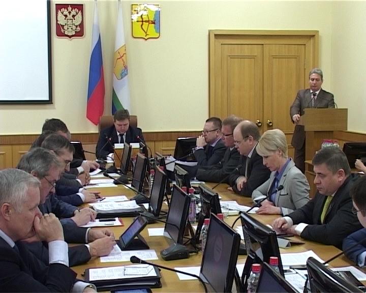 Заседание правительства области об итогах реализации региональных программ и проектов