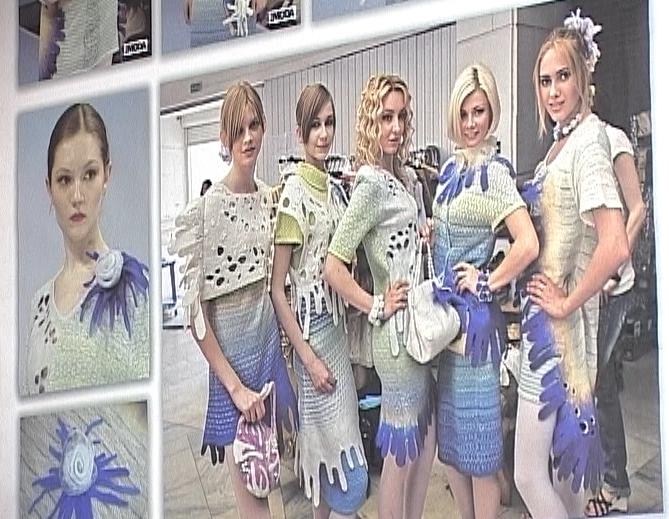 Выставка работ студентов-модельеров