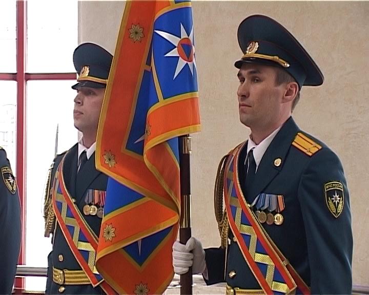 Главное Управления МЧС по Кировской области обрело собственное Знамя