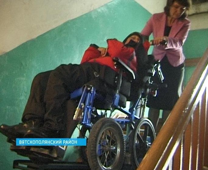 Подъемник для инвалида