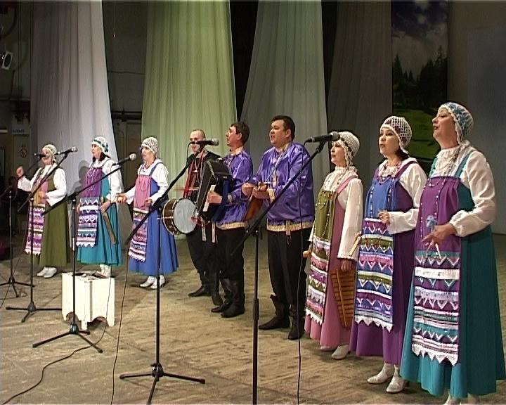 Гала-концерт конкурса народной песни