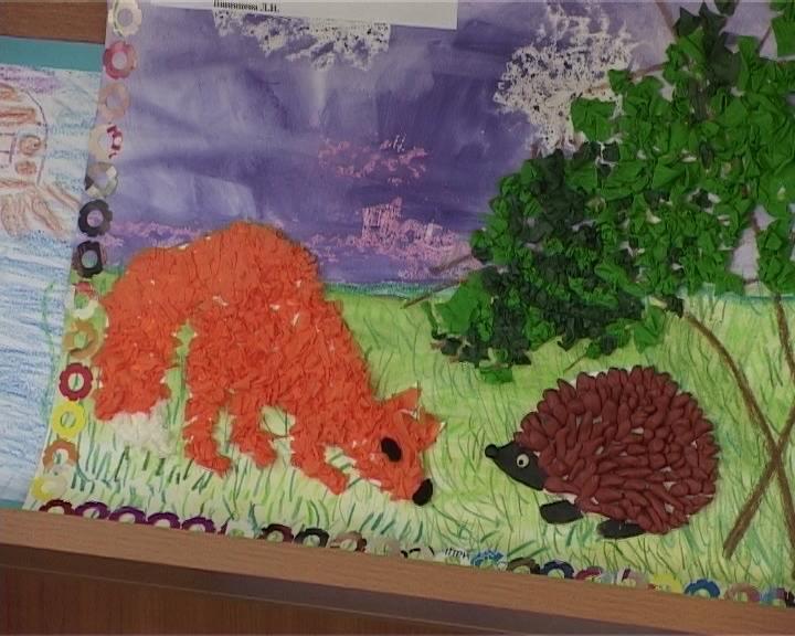 Выставка рисунков «Вдохновение» в кировской библиотеке имени Дьяконова