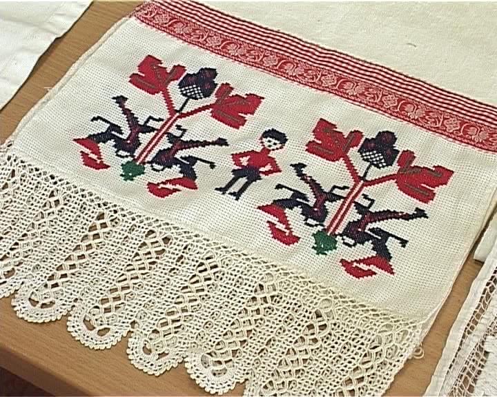 Мастер-класс по старинной технике вышивания полотенец вятской мастерицы Нелли Касимовой