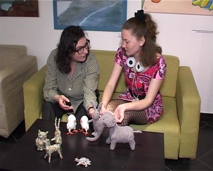 Выставка кировской художницы и мастерицы кукол Надежды Фроловой