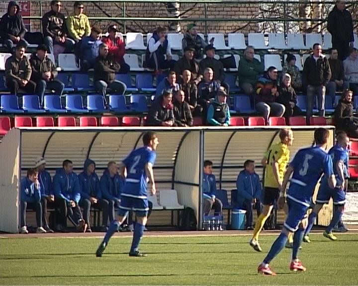 Матч «Динамо» и «Волги»