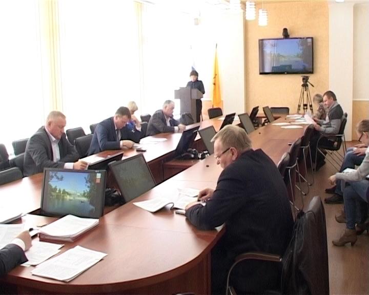 Заседание гордумы по бюджету и финансам