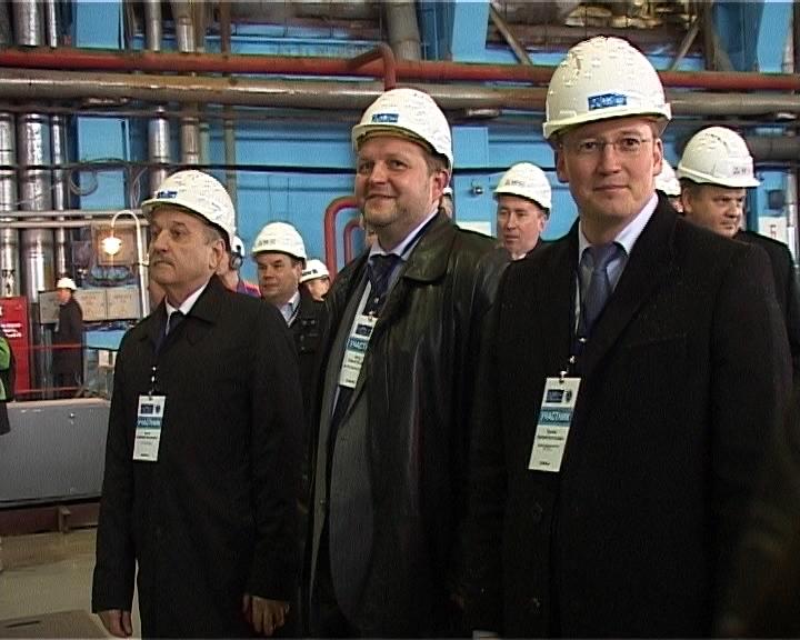 На ТЭЦ-4 запустили новый турбогенератор