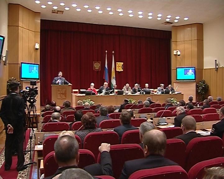 Никита Белых отчитался перед депутатами ОЗС по результатам работы областного правительства в прошлом году