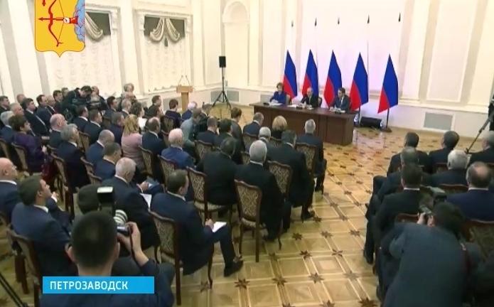 Алексей Ивонин на встрече с Президентом