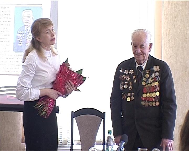 Встреча студентов медакадемии с ветераном ВОВ, врачом-хирургом Михаилом Сусоровым
