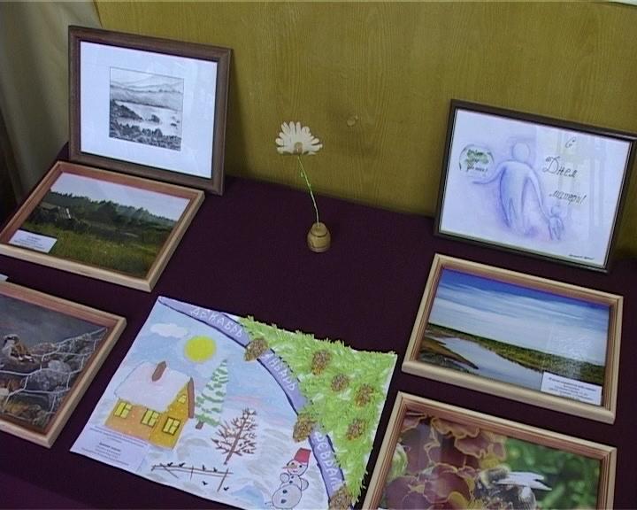 Выставка в детском фонде