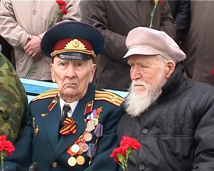 Поздравление ветеранов с днем Победы в УФСИН