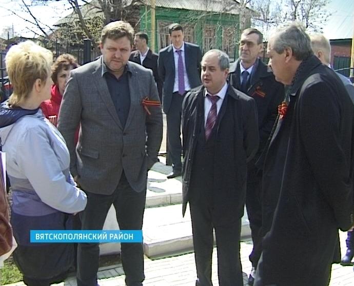 В Вятскополянском районе с рабочим визитом побывал глава региона Никита Белых