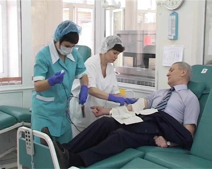Работники областного Управления федеральной службы судебных приставов приняли участие в донорской акции