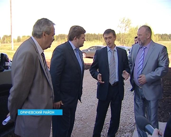 Никита Белых посетил Оричевский район